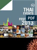 Thai Even And Festivals 2013