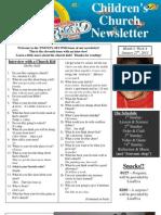 Newsletter 1-27-13