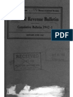Bureau of Internal Revenue Cumulative Bulletin 1942-1