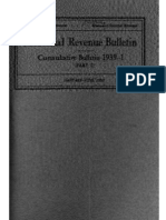 Bureau of Internal Revenue Cumulative Bulletin 1939-1 Part 1