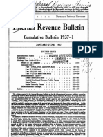Bureau of Internal Revenue Cumulative Bulletin 1937-1