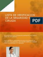 LISTA DE VERIFICACION DE LA SEGURIDAD DE LA.pptx