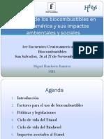 Estudio biocombustibles