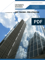 Asset Tracing, Pre-Litigation, Tracing Services