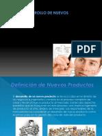 Proceso y Desarrollo de Nuevo Productos