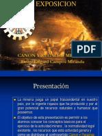 Aspectos Legales en La Distribucion Canon en Tacna