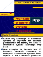 Foundation course in Information SYSTEM