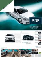 Toyota Camry spec