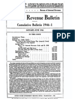 Bureau of Internal Revenue Cumulative Bulletin 1946-1