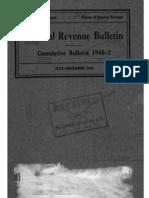 Bureau of Internal Revenue Cumulative Bulletin 1948-2