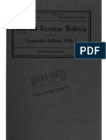 Internal Revenue Service Cumulative Bulletin 1953-1