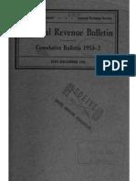 Internal Revenue Service Cumulative Bulletin 1953-2