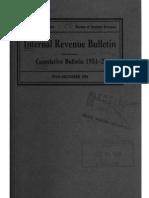Bureau of Internal Revenue Cumulative Bulletin 1951-2