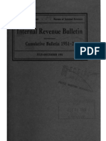 Bureau of Internal Revenue Cumulative Bulletin 1951-2