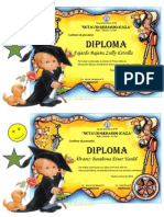 Diploma Primer Año