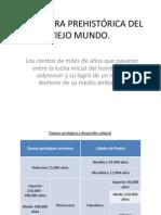 LA CULTURA PREHISTÓRICA DEL VIEJO MUNDO