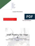 Irish poetry for Year 4