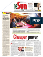 thesun 2009-02-12 page01 cheaper power