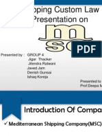 msc ppt on shipping