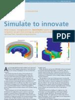Simulate to Innovate Aero Manufacturing