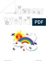 Rainbow Writing Book v2