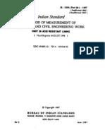 1200+ Part+26+ +Measurement+of+Bldgs Acit+Resistant+Lining