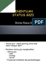 status gizi anak