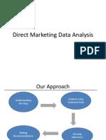 Direct Marketing data analysis