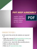 Toy Ship Assembly