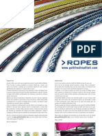 ROPES - YACHTING LINE 2012