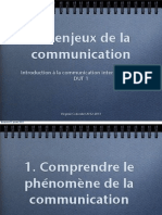Introduction Aux Enjeux de La Communication
