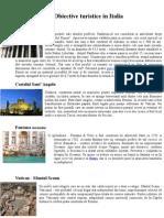 Obiective turistice Italia