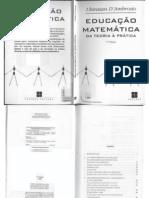 educação matemática - ubiratan d'ambrósio
