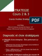 Diagnostic et choix stratégiques