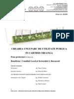 proiect parc public