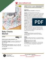 Baby Checks Blanket