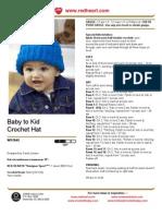 Baby to Kid Crochet Hat
