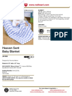 Heaven Sent Baby Blanket