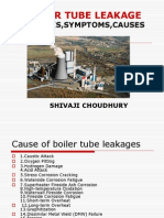 boiler tube leakages