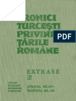 Cronici turcesti despre Tarile Romane Vol. 3