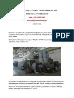 Power Plant Efficiency Improvement Project