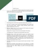 resume pada DAC