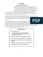 Fact-sheet New Plan 800 Billons