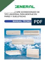 Manual aire acondicionado de General