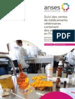 Suivi des ventes de médicaments vétérinaires contenant des antibiotiques en France en 2011