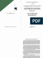Astrologija Knjiga 3 - Analiziranje Horoskopa 1