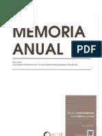 2012 Memoria Anual ACRE