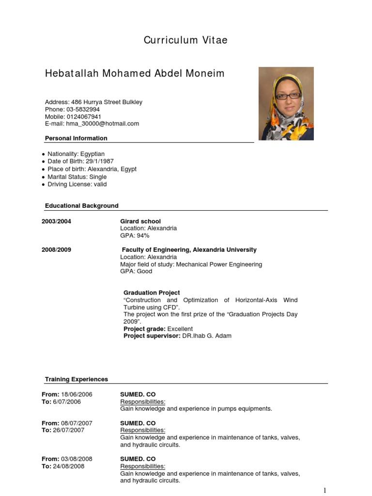 female data entry engineer cvresume sample
