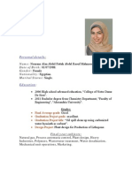 Female Data Entry Engineer Cv Resume Sample
