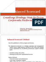 Balanced Score Card - Strategy Roadmap